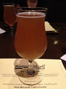 Homefield Jan 2013 beer dinner - 01