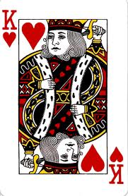 Charlemagne as the King of Hearts